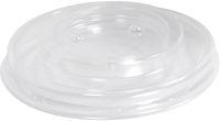 AMPRI-Hygiene, Einweg-Einmal-Deckel für Hart-Papier-Becher, ø 81 mm, VE = 1000 Stück, transparent