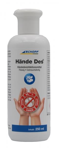 SCHOPF Händedesinfektion HändeDes 250ml