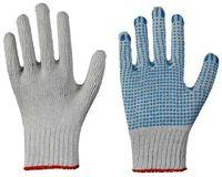 LP-MAGIC BLUE, Strick-Arbeits-Handschuhe, einseitig blaue Noppen, griffsicher und rutschfest, blau