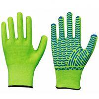 LP-SOLIDSTAR, Schnittschutz-Arbeits-Handschuhe, Spezialfaser, gutes Tragegefühl, neongrün