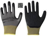 LP-SOLIDSTAR, Nylon-Feinstrick-Arbeits-Handschuhe, Latexbeschichtung, schwarz