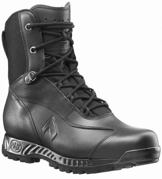 HAIX 203101-Stiefel für den Polizeidienst, robust, RANGER GSG9 S, schwarz
