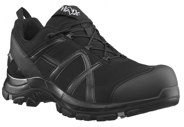 HAIX 610010-S3 Sicherheitshalbschuhe, BLACK EAGLE Safety 40.1, LOW BLACK/BLACK, schwarz