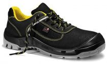JORI-Sicherheits-Arbeits-Berufs-Schuhe, Halbschuhe, jo_COLOUR yellow Low S1P, schwarz/gelb