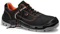 JORI-Sicherheits-Arbeits-Berufs-Schuhe, Halbschuhe, jo_COLOUR orange Low S3, schwarz/orange
