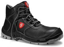 JORI-S3-Sicherheits-Arbeits-Berufs-Schuhe, Schnürstiefel, hoch, ACHIM Compo S3, schwarz