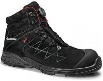 JORI-S3-Sicherheits-Arbeits-Berufs-Schuhe, Schnürstiefel, hoch, jo_MAX BOA Mid S3, schwarz