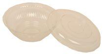 PL-Hygiene, Salatschale, OPS, inkl. Deckel, 610 ccm rund, 500 Stück, transparent klar