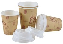 PL-Hygiene, Deckel Kaffeebecher Coffee to go, 200 ccm, Ktn. á 1000 Stk.
