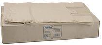 PL-Hygiene, Hemdchen-Tragetaschen, HDPE, feste Qualität, 300 + 180 x 550 mm, 20 x 100 Stück, weiß