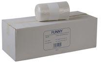 PL-Abfall-Säcke-Müll-Beutel, Müllbeutel, HDPE, ca. 120 ltr., 700 x 1100 mm, Typ 20, 10 Rollen x 50 Stück, transparent