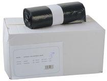 PL-Abfall-Säcke-Müll-Beutel, Müllsäcke, LDPE, ca. 120 ltr., 2-Schicht, 700 x 1100 mm, Typ 60, 10 Rollen x 25 Stück, blau/grau