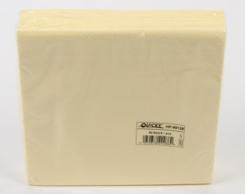 PL-Tafelserviette 40x40cm, 1/4 Falz, champagner,  Karton á 1400 Stück