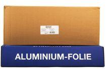 PL-Hygiene, Aluminiumfolie, Aluminium, 44 cm breit, Typ 150 in Cutterbox, 6 Rollen
