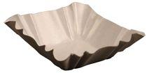 PL-Hygiene, Pappschale, rechteckig, beschichtet, 9 x 9 x 3 cm, 3000 Stück, weiß