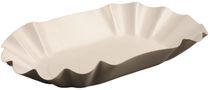 PL-Hygiene, Pappschale, rechteckig, beschichtet, 14 x 22 x 3,7 cm, 1000 Stück, weiß