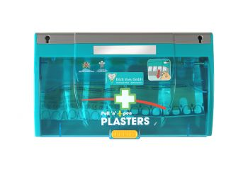 VOSS-PSA-Erste Hilfe, FOX Pflaster-Spender, steril und wasserabweisend