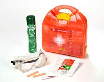 VOSS-PSA-Erste Hilfe, Mezzo FOX Labor & Chemie, orange transluzent