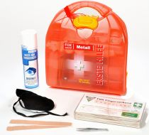 VOSS-PSA-Erste Hilfe, Mezzo FOX Metallbau, orange transluzent