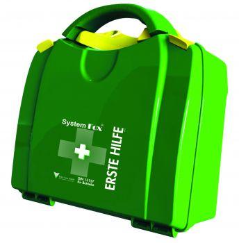 VOSS-PSA-Erste Hilfe, FOX Koffer Erste Hilfe klein, gefüllt nach DIN 13157, dunkelgrün