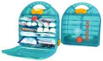 VOSS-PSA-Erste Hilfe, Mezzo FOX, Erste Hilfe Koffer, DIN 13157 und DIN13164, grün