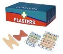 VOSS-PSA-Erste Hilfe, Pflasterbox, wasserabweisend, steril verpackt