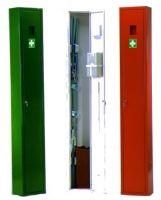 VOSS-PSA-Erste Hilfe, Krankentragen-Schrank, groß, gefüllt, orange