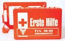 VOSS-PSA-Erste Hilfe, Fox DIN Box orange, ABS Kunststoff