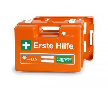VOSS-PSA-Erste Hilfe, Koffer TRAVE mit Füllung DIN 13157 Plus