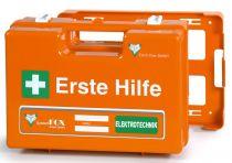 VOSS-PSA-Erste Hilfe, Koffer Fox WESER Elektrohandwerk, orange