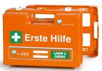 VOSS-PSA-Erste Hilfe, Koffer Fox WESER Labor & Chemie, orange