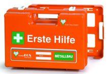 VOSS-PSA-Erste Hilfe, Koffer Fox WESER Metallbau, orange