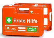 VOSS-PSA-Erste Hilfe, Koffer Fox WESER Schweißer & Heißbereich, orange