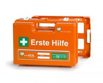 VOSS-PSA-Erste Hilfe, Koffer WESER mit Füllung DIN 13169, orange