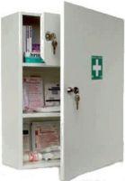 VOSS-PSA-Erste Hilfe, Stahlblech-Schrank WARNOW, leer