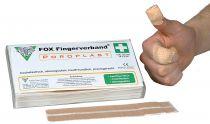 VOSS-PSA-Erste Hilfe, FOX Finger-Verband, textil-elastisch, 18 x 2 cm, hautfarben