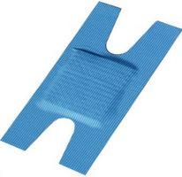 VOSS-PSA-Erste Hilfe, Finger-Gelenkverband H-Form, PREMIUM, textil-elastisch & wasserabweisend, blau