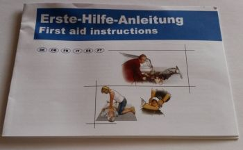VOSS-PSA-Erste Hilfe,  Broschüre, 8-sprachig