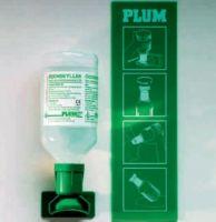 VOSS-PSA-Erste Hilfe, Augen-Spülflasche mit Augenschale, Nachfüllung, steril