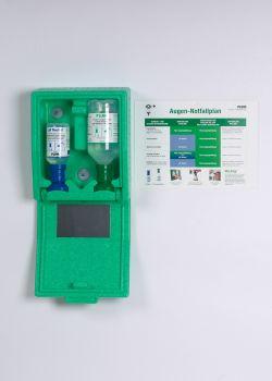 VOSS-PSA-Erste Hilfe, Plum Augen-Spülstation BOX 1 x 500ml + gepufferte Lsg.