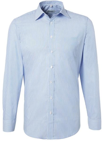 PIONIER-Hemd, Business Fashion, 1/1 gestreift, marine/weiß