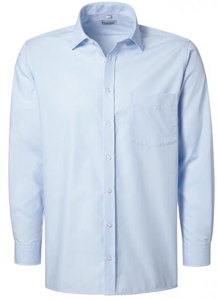 PIONIER-Herrenhemd, Kent-Kragen, 1/1 Arm, BUSINESS FASHION, hellblau