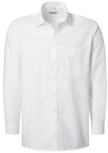 PIONIER-Herrenhemd, Kent-Kragen, 1/1 Arm, BUSINESS FASHION, weiss