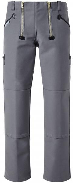 PIONIER Zunft-Arbeits-Berufs-Bund-Hose, Herforder Zunft, ohne Schlag, 530 g, grau