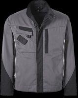 PIONIER-Arbeits-Berufs-Bund-Jacke, TOOLS, 285g/m², grau/schwarz