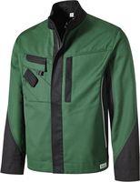 PIONIER-Arbeits-Berufs-Bund-Jacke, TOOLS, 285g/m², grün/schwarz