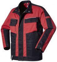 PIONIER-Arbeits-Berufs-Bund-Jacke, ca. 245g/m², schwarz/rot