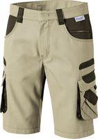 PIONIER-Bermuda, Arbeits-Berufs-Shorts, TOOLS, 285g/m², beige/braun
