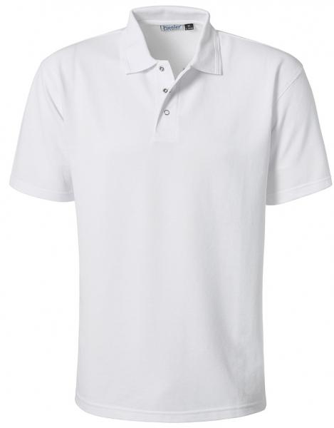 PIONIER-HACCP-Food-Arbeits-Berufs-Poloshirt, 1/2 Arm, GASTRO, 185g/m², weiss