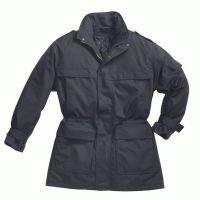 PIONIER Herren-Winter-Arbeits-Berufs-Jacke, mit Schulterklappen, marine
